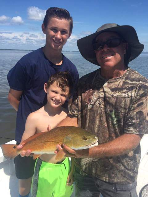 Redfish with Captain Joe Porcelli