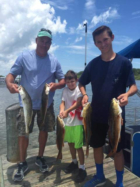 Redfish and Trout with Captain Joe Porcelli